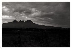 Rainclouds at Helderberg by ash