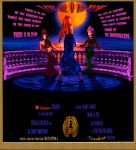 Love Under A Blood Moon Poster by surreal1st1cp1llow