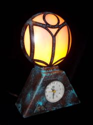 Guild of Maintainers Clock Lamp by Pirkleations