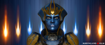 Mass Effect - Golden Justicar by RHEINLAND-FILM