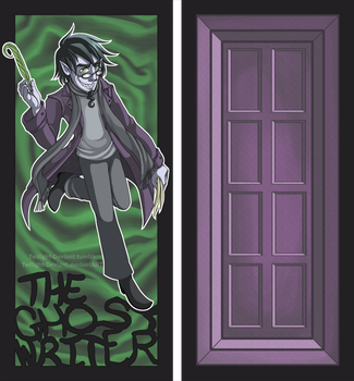 DP: Ghost Writer Bookmark by Twilight-Deviant