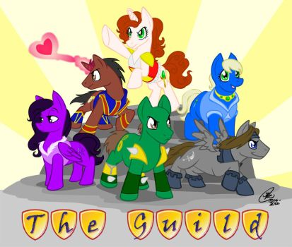 My Little Guild: Friendship is Magic by Kanthara