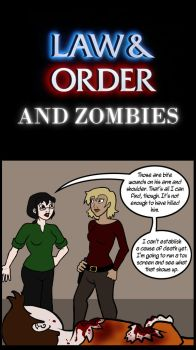 Law and Order and Zombies by Eviltwinpixie