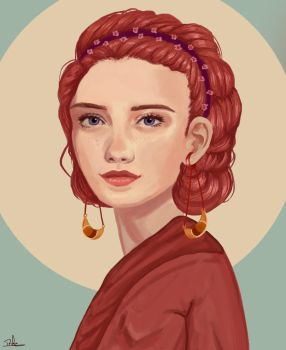 Portrait commission: Flavia Lapida by Roocio-san