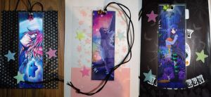 Bookmark charms by RyuKais-Comix