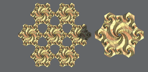 Semi-Regular Tesselations of Spidron Fractals by Shastro