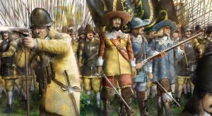 The Yellow Regiment of Gustavu by lathander1987