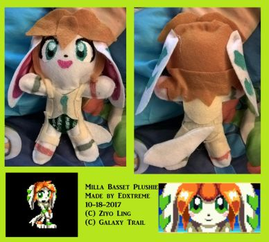 Milla plushie by Edxtreme