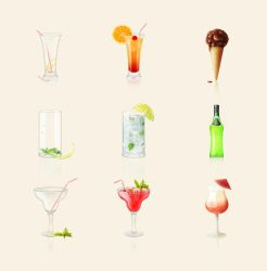 cocktails set by EroucT