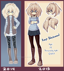 Reyn Blackwood ~ Updated Character Sheet by forgottencake