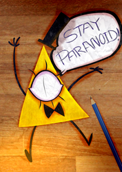 STAY PARANOID! by Omega-Square