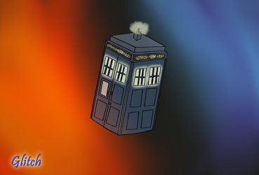 Tardis in the time vortex by frozenmeerkat