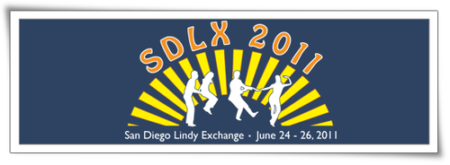 San Diego Lindy Exchange Logo by drkdsgn