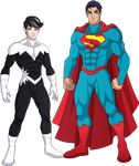 Northstar and Superman by sparks220stars