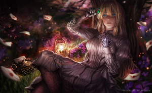 Violet Evergarden by artkuzu