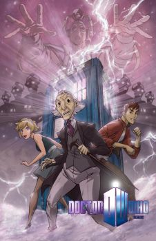 Doctor Who the animated series by DanNortonArt