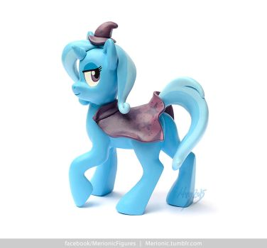 Trixie Lulamoon sculpture by MerionMinor