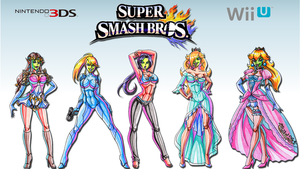 She Masked Beauties of Smash Bros. Wallpaper by Yoshi9288
