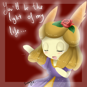 You'll be the light of my life~ by SuperSunny08