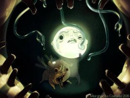 Come on, Bulb, it's only Snotty Bunny! by leevolt