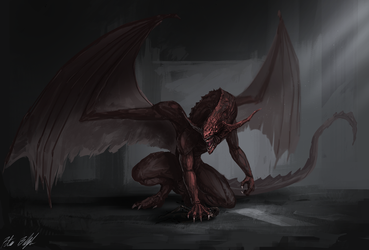 Hell Dragon by PeterPrime