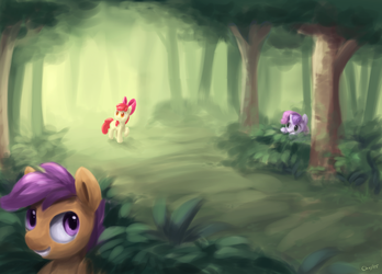 ATG 2015 #6 - Hide and Seek by Chiramii-chan