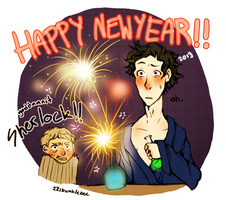 Sherlock Holmes: Happy New Year! by cannorachan
