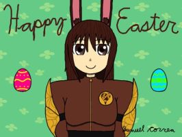 Happy Easter from Velvet by Qrow92