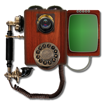 Steampunk Victorian Video Conference Icon Mk2 by pendragon1966
