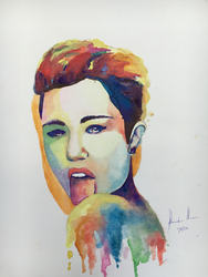 Miley Cyrus by A1exanderArt