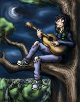 Just Me and My Guitar by Dreamwish