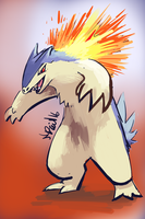 Typhlosion by P5ych