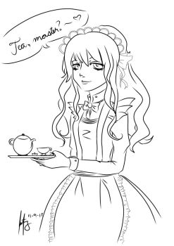 Tea, Master? by omfgitsliz