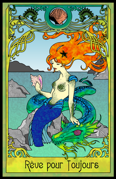Nouveau Mermaid Colored by Javen