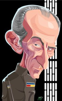 Gran Moff Tarkin by kgreene
