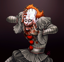 Crazy Pennywise by XxLevanaxX