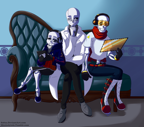 :commission: Family photo by Sofua
