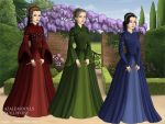 Flora, Fauna, and Merryweather Tudor Style by TFfan234