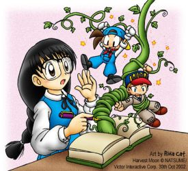 Harvest Moon Beanstalk by rinacat