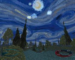 Carnivores 2 - Starry Night Map by Poharex