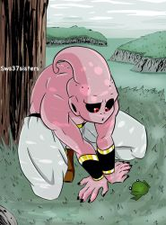 Kid buu and  forg by naruto-warriors-oc