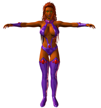 Preview: Starfire by willdial