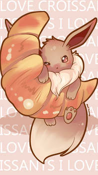 Eevee Phone Wallpaper FREE by SeviYummy