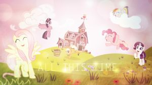All This Time - Mane 6 - 4k Wallpaper by P3r0