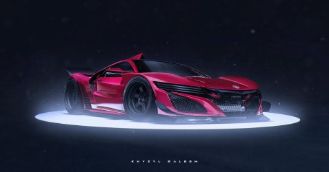 2015 NSX by The--Kyza