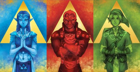 Triforce by Kunyue