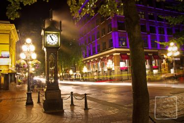 Good Ol Steam Clock by MyPhotoParadise