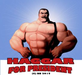 Mike-Haggar for president by Blathering