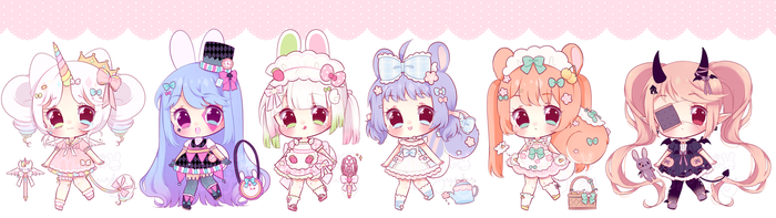 May Adoptables - SETPRICE [OPEN] [2/6] added extra by mahkala
