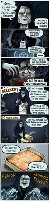 Palpatine's Kitchen by QuadForceFive
